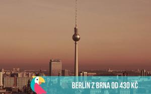 Do Berlína z Brna od 430 Kč