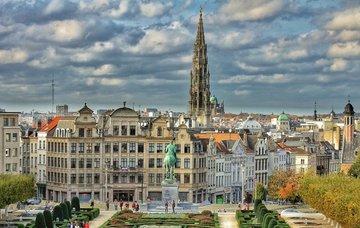 Belgie: Brusel z Prahy v lednu již od 258 Kč/zpáteční letenka!