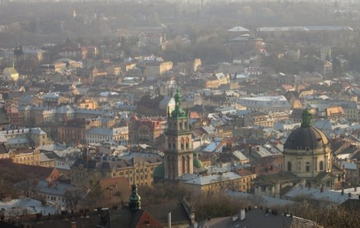 Ukrajina: Lvov z Bratislavy v únoru za 767 Kč/zpáteční letenka!