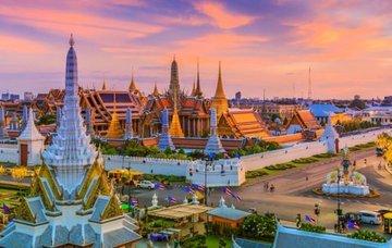 Thajsko: Bangkok z Vídně během atraktivních měsíců za 465 Eur/zpáteční letenka s 23 kg zavazadlem!