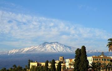 Sicílie: Catania z Vídně v říjnu za 893 Kč/ zpáteční letenka! Pro členyWDC již od 510 Kč!
