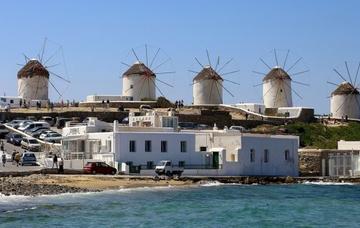 Řecko: Mykonos z Vídně v říjnu již od 775 Kč/ zpáteční letenka!