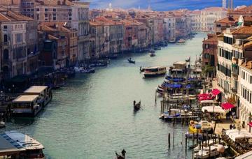 Itálie: Benátky z Prahy v říjnu již od 656 Kč/ zpáteční letenka!