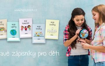 happybook - hravé zápisníky pro děti