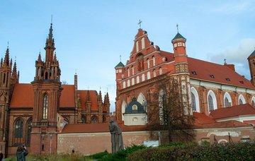 Litva: Vilnius z Vídně v únoru již od 283 Kč/ zpáteční letenka!