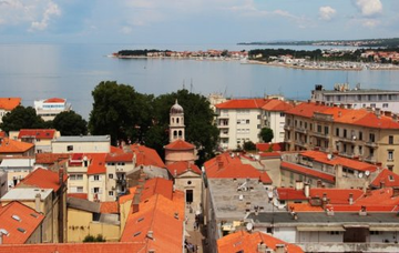 Chorvatsko: Zadar z Prahy v září za 1 233 Kč!/ zpáteční letenka!