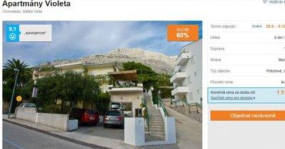 Výborně hodnocené ubytování ve vile v Chorvatsku na 8 dní za 1519 Kč! Sleva 60 %!