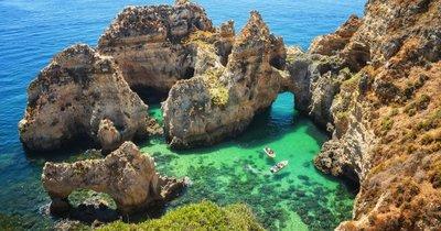 Nejkrásnější pobřeží Portugalska Algarve z Berlína od 38 Eur/zpáteční letenka!