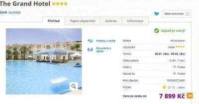 Egypt z Prahy na 8 dní s All Inclusive za 7 899 Kč!