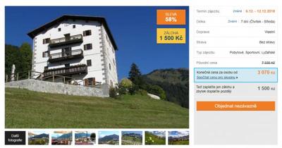Italské Dolomity po vlastní ose, 7 dní za 3 070 Kč, sleva 58 %