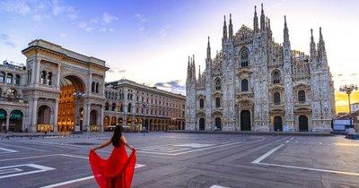 Z Vídně do Milána během června od 520 Kč/zpáteční letenka!