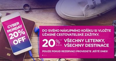 WizzAir: sleva 20 % na všechny letenky! Pouze dnes! Například Island za 52 Eur/zpáteční letenka!