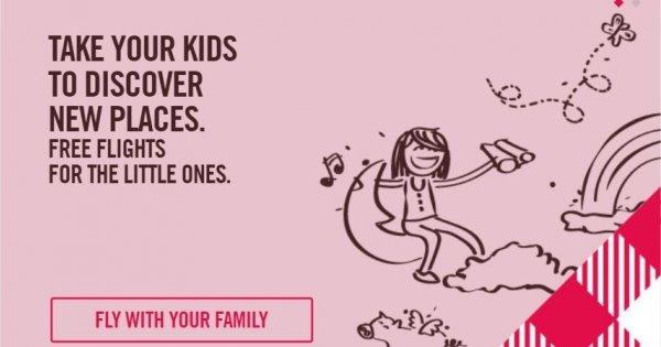 Volotea: letenky zdarma pro děti do 12 let!