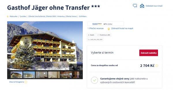 Lyžovačka v Rakouských Alpách na 5 dní a s polopenzí za 2 704 Kč