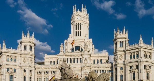Madrid z Vídně za 10 EUR/zpáteční letenka!