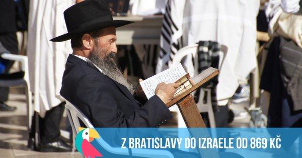Izrael z Bratislavy včetně Vánoc od 869 Kč
