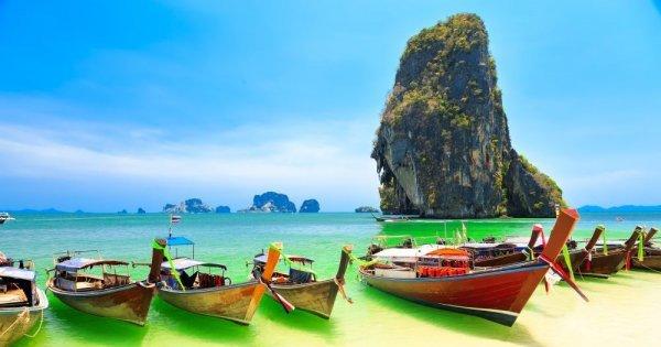 Thajsko v listopadu za 12 589 Kč