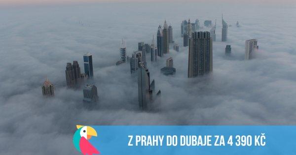 Podzimní Dubaj z Prahy za 4 390 Kč