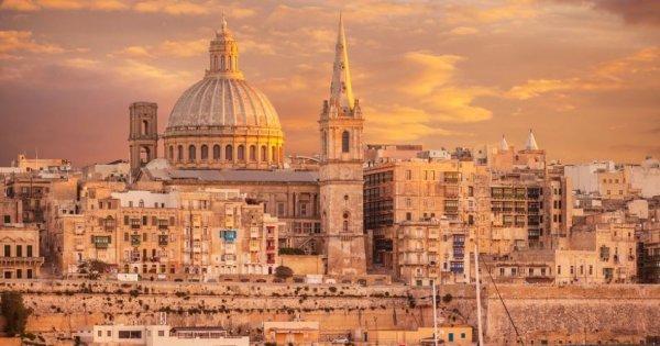 Malta z Bratislavy za 26 Eur/zpáteční letenka!