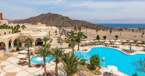 Egypt: Taba z Prahy na 8 dní v luxusním hotelu s All inclusive za 7 990 Kč!