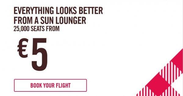 Letenky se společností Volotea do celé Evropy od 5€/jednosměrná letenka!