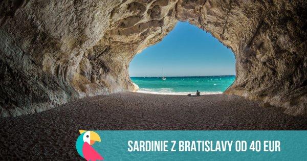 Z Bratislavy na Sardinii od 40 EUR