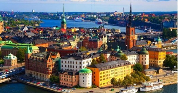 Stockholm z Prahy od dubna od 599 Kč!
