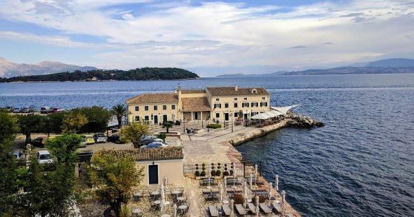 Řecko: Korfu z Vídně v říjnu za 775 Kč/ zpáteční letenka!