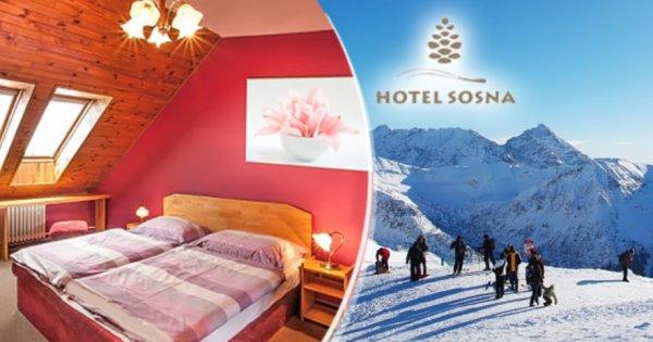 Vysoké Tatry na 3 dny pro 2 osoby s polopenzí za 2 359 Kč