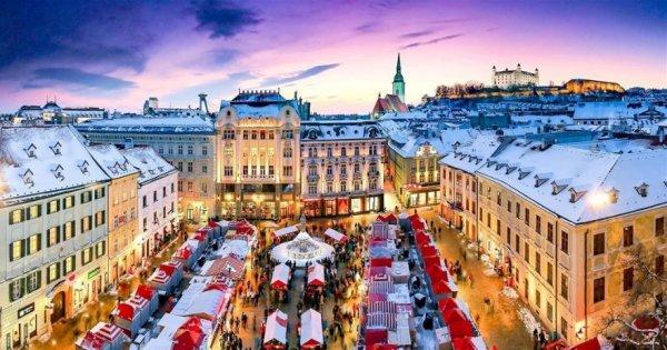 Na skok za poznáním do adventní Bratislavy za 299 Kč, sleva 40 %