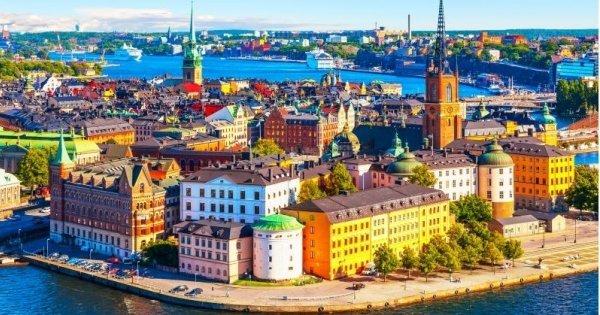Stockholm z Prahy od 778 Kč/zpáteční letenka!