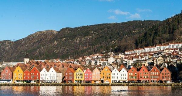 Z Vídně do Bergenu již od 512 Kč/zpáteční letenka!