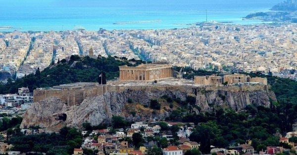 Z Katowic do Athen za 783 Kč