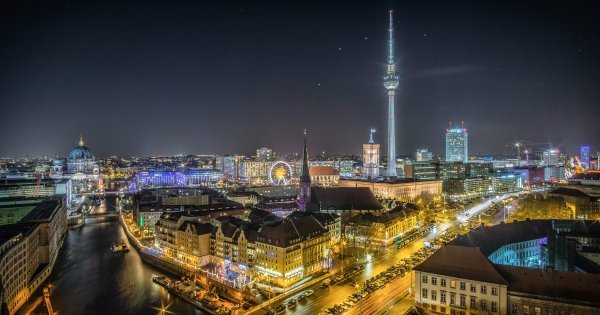 Berlín z Brna od dubna do května za 258 Kč/zpáteční letenka!