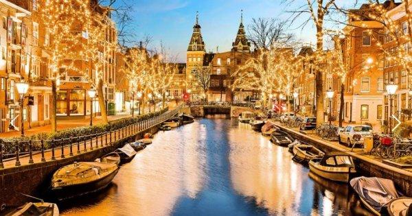 Navštivte Amsterdam a Festival světel během adventu! Poznávací zájezd za 1 599 Kč!