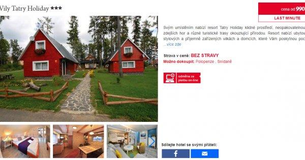 Vysoké Tatry po vlastní ose na 4 dny za 990 Kč, na 8 dní za 2 190 Kč