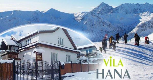 Vysoké Tatry - ubytování se snídaní na 3 dny pro 2 osoby za 1 499 Kč! Sleva na skipasy!