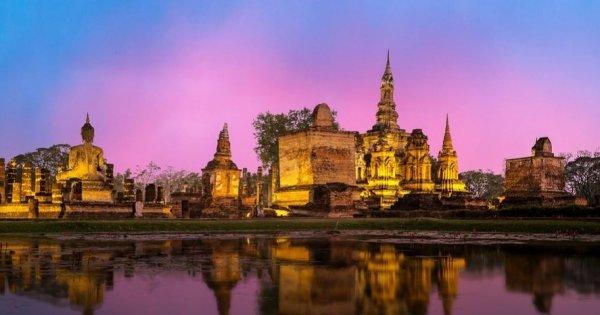 Thajsko: Bangkok z Prahy v květnu za 9 450 Kč/zpáteční letenka včetně velkých zavazadel!