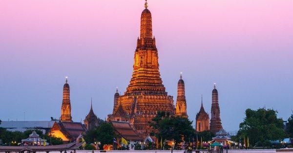 Bangkok od 11 245 Kč - v březnu nebo dubnu 2015