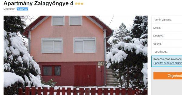 Nejmenší maďarské město Zalakaros na 8 dní za 317 Kč