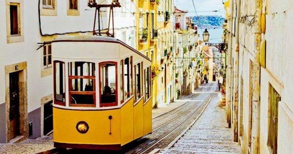 Lisabon z Vídně za 19,99 Eur!