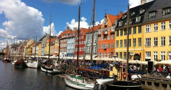 Z Prahy na jaře do Kodaně již od 778 Kč/zpáteční letenka!