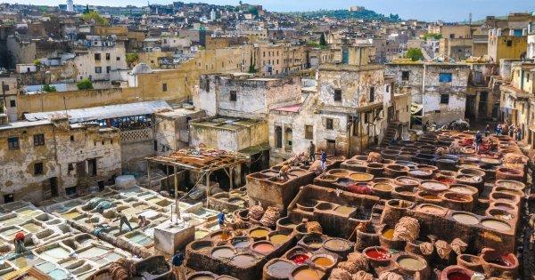 8 dní v marockém Fesu se zastávkou v Miláně (celkem 10 dní)