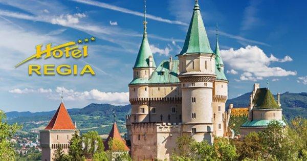 Slovensko: Bojnice pro 2 osoby na 3 dny s polopenzí za 2 590 Kč!