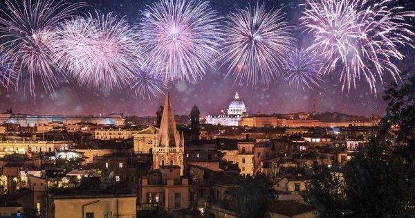 Řím z Vídně za 20 Eur/zpáteční letenky! Silvestrovské letenky od 31 Eur!