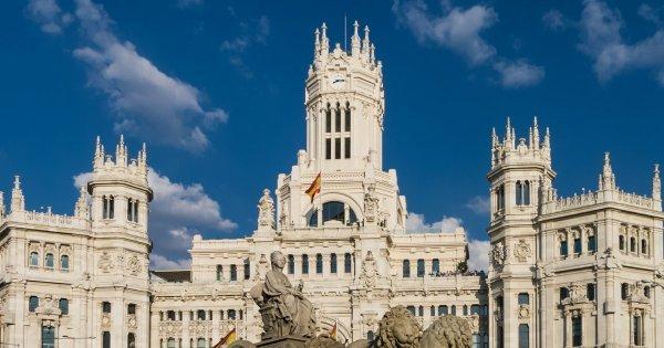 Z Vídně do Madridu v květnu a červnu od 420 Kč/zpáteční letenka!