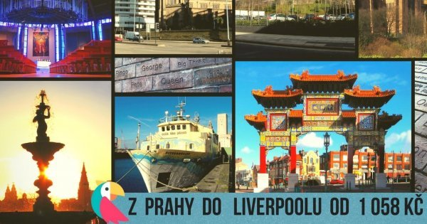 Z Prahy do Liverpoolu na podzim od 1 058 Kč