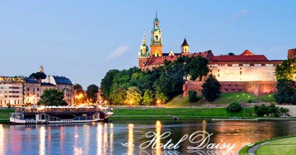 Pobyt v Krakově pro 2 osoby na 3 dny se snídaněmi za 2 287 Kč!