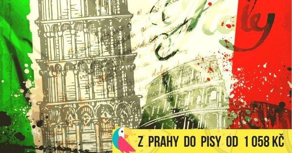 Z Prahy do Pisy v listopadu od 1 058 Kč