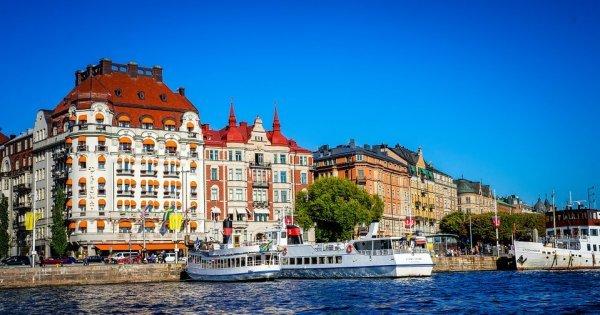 Stockholm z Vídně v květnu za 899 Kč/ zpáteční letenka!
